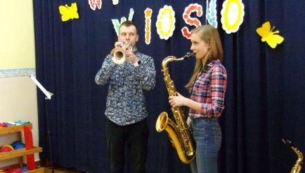 """,,Saksofon i trąbka - spotkanie z muzyką"""""""